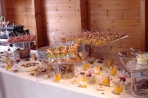 Cocktail dans le chalet