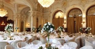 Décoration de salle - Beau Rivage Palace
