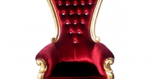 location fauteuil pere noel