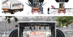 Fête de la musique sur le Vieux-Port de Marseille