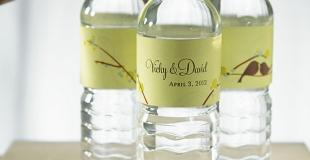 etiquette bouteille personnalisé