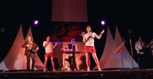 animation chanteuse saxo clavier trio