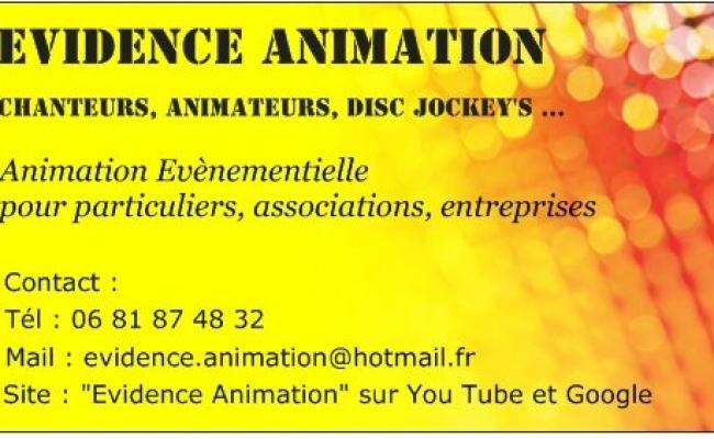 Animation De Mariage Carte Visite EVIDENCE ANIMATION