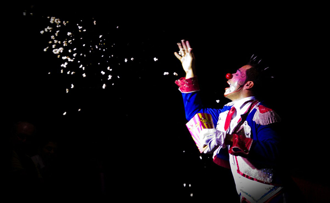 Spectacle de magie et clown pour l'arbre de Noël des enfants