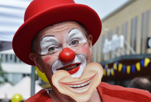 Faire venir un clown à domicile