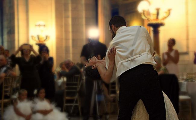 Cours et chorégraphie ouverture de bal de mariage avec un danseur pro