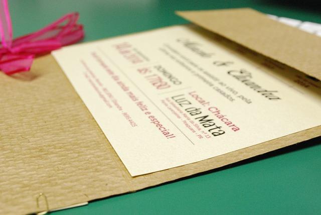 Faire réaliser un faire-part original pour une invitation de mariage personnalisée