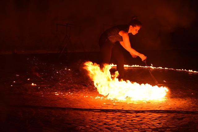 Cracheur de feu ou autre spectacle de feu pour un mariage
