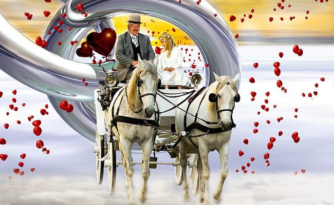 Location d'une calèche pour un mariage