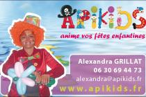 Apikids anime vos fêtes enfantines