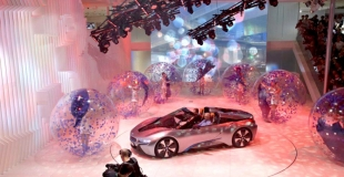 Bulle Presentation BMW China