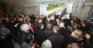 Inauguration Liane A41 Axe Annecy-Genève