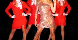 Céline Dion et ses hôtesses
