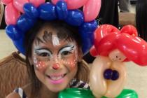 Sculpture sur ballon et maquillage