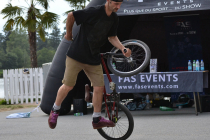 Le BMX Freestyle, une animation spectaculaire