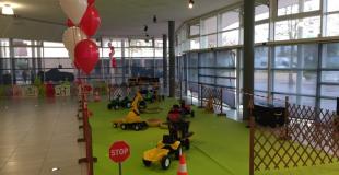 Atelier tracteurs à pédales
