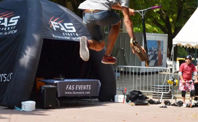 Show Sportif Freestyle Trial - Spectacles de rue par Fas Events