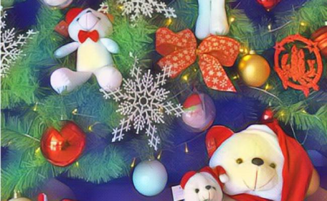 Roues Design Noël Hiver Pays des Merveilles service colis or