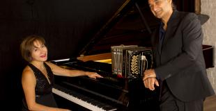 Lucia Abonizio, piano et Gilberto Pereyra, bandonéon