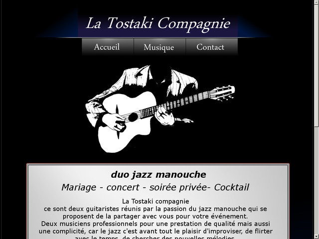 La Tostaki Compagnie - Duo jazz manouche