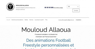 Mouloud freestyle football
