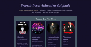 Francis Perin Animation Originale