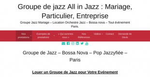 Groupe de jazz All in Jazz